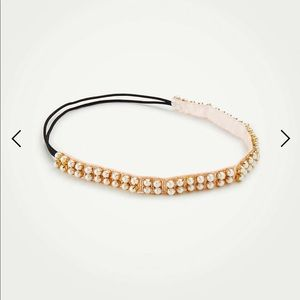 Ann Taylor crystal elastic headband